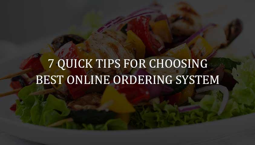 Best Online Ordering System