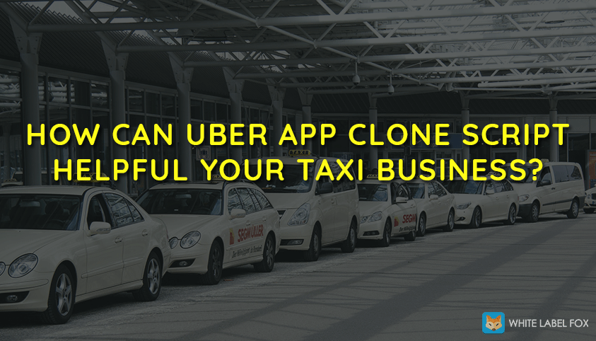 How Can Uber App Clone Script Helpful Your Taxi Business