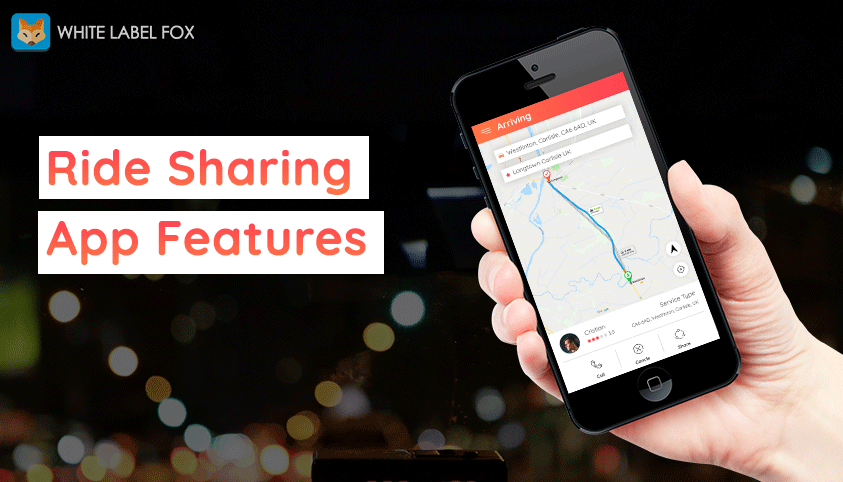 Features of Top Ride Sharing Apps