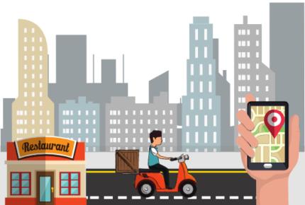 gojek clone app - food delivery app