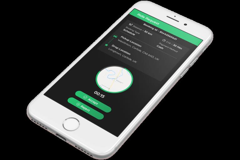 uber clone - driver app