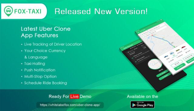 uber taxi clone app