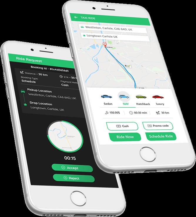 Get Uber Clone Source Code | Best Uber Clone App Script