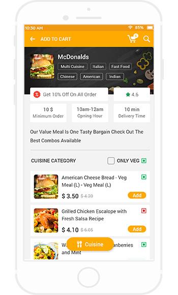 White Label Food Ordering App Script | UberEats Clone - White Label Fox