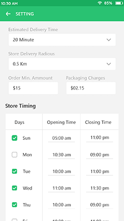 Manage-Store-Information
