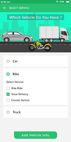 Select-Vehicle