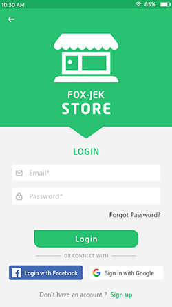 Store-Login-Screen
