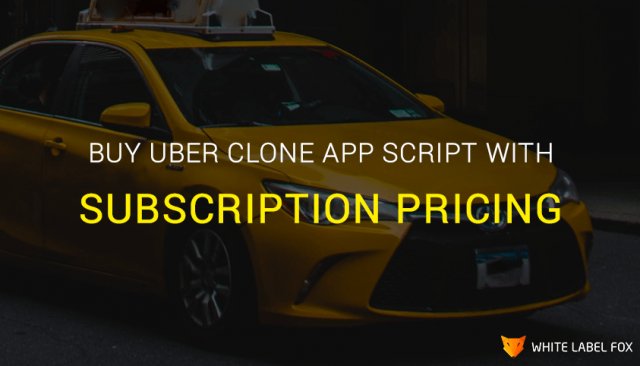 Buy Uber Clone Script