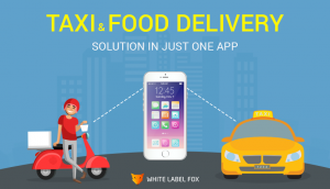 Get Food Delivery And Taxi Booking In One App