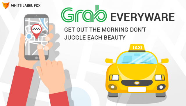 grab taxi booking app