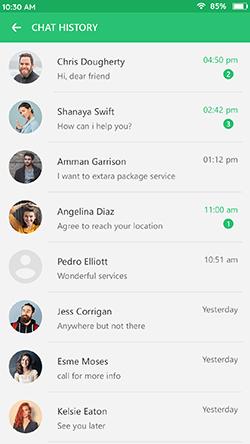 provider-chat-history