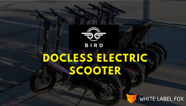 Docless Electric Scooter App