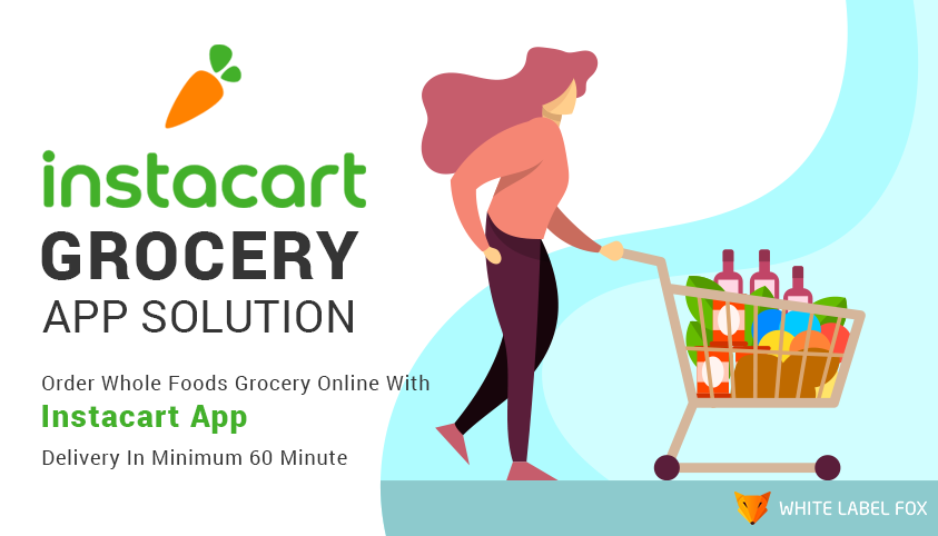 How To Develop online grocery app like Instacart?- WLF