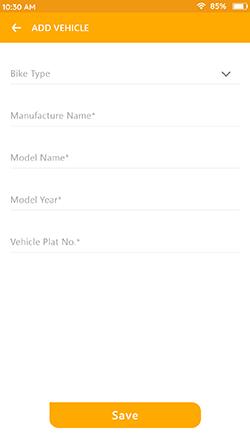 Manage Vehicle