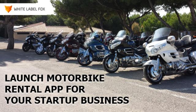 motor bike rental app