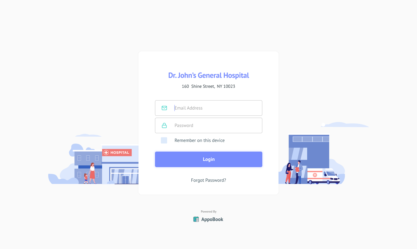 doctor web login