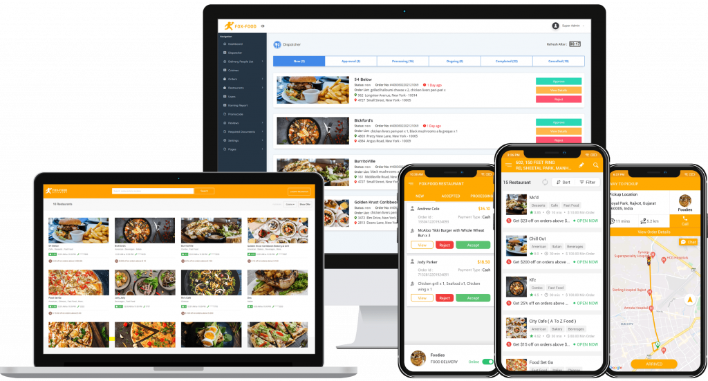 what we offer in food app